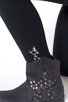 U hOO Birdie Logo Leggings