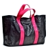 U hOO Classic Leather Tote - Black