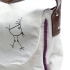 U hOO Large Birdie Pocket Hobo (side detail)