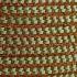 U hOO Woven Fiesta Tote  (Green/Caramel - detail)