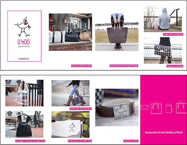 Download the Look book fold-out card here! (pdf)